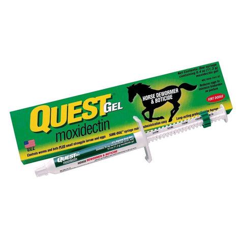 Quest Gel Wormer - Vision Saddlery