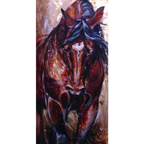 Elise Genest Greeting Card, Aragorn - Vision Saddlery