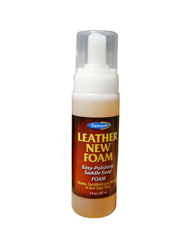 Farnam Leather New Foam 207ml - Vision Saddlery