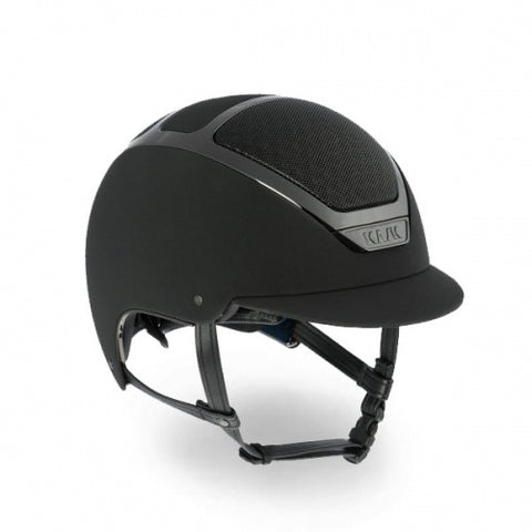 Kask Dogma Chrome Helmet, Black - Vision Saddlery
