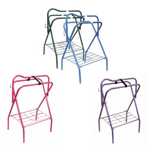 Collapsible Standing Saddle Rack - Vision Saddlery