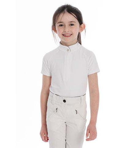 Horseware Kids Sara Short Sleeve Competition Shirt - Vision Saddlery