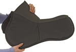 NuuMed HiWither 2-Pocket Shimmable Half Pad with Wool - Vision Saddlery