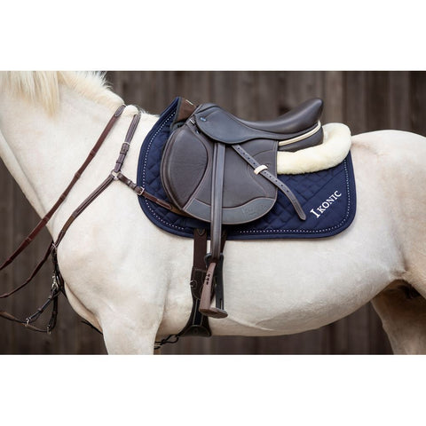 "IKONIC ""HYBRID"" JUMPING SADDLE - HALF DEEP SEAT - Vision Saddlery"