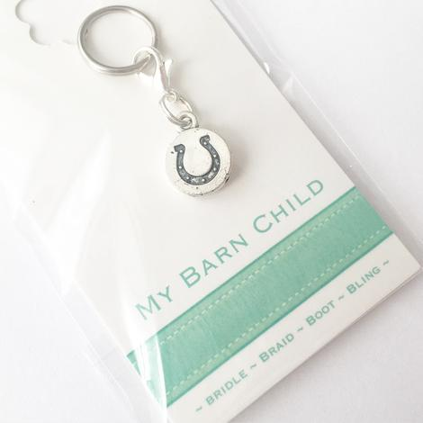 MBC Bridle Charm - HORSESHOE - Vision Saddlery