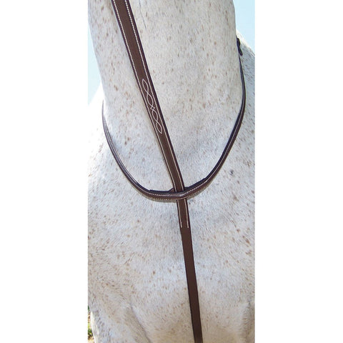 Pro-Trainer Fancy Stitched Standing Martingale - Vision Saddlery