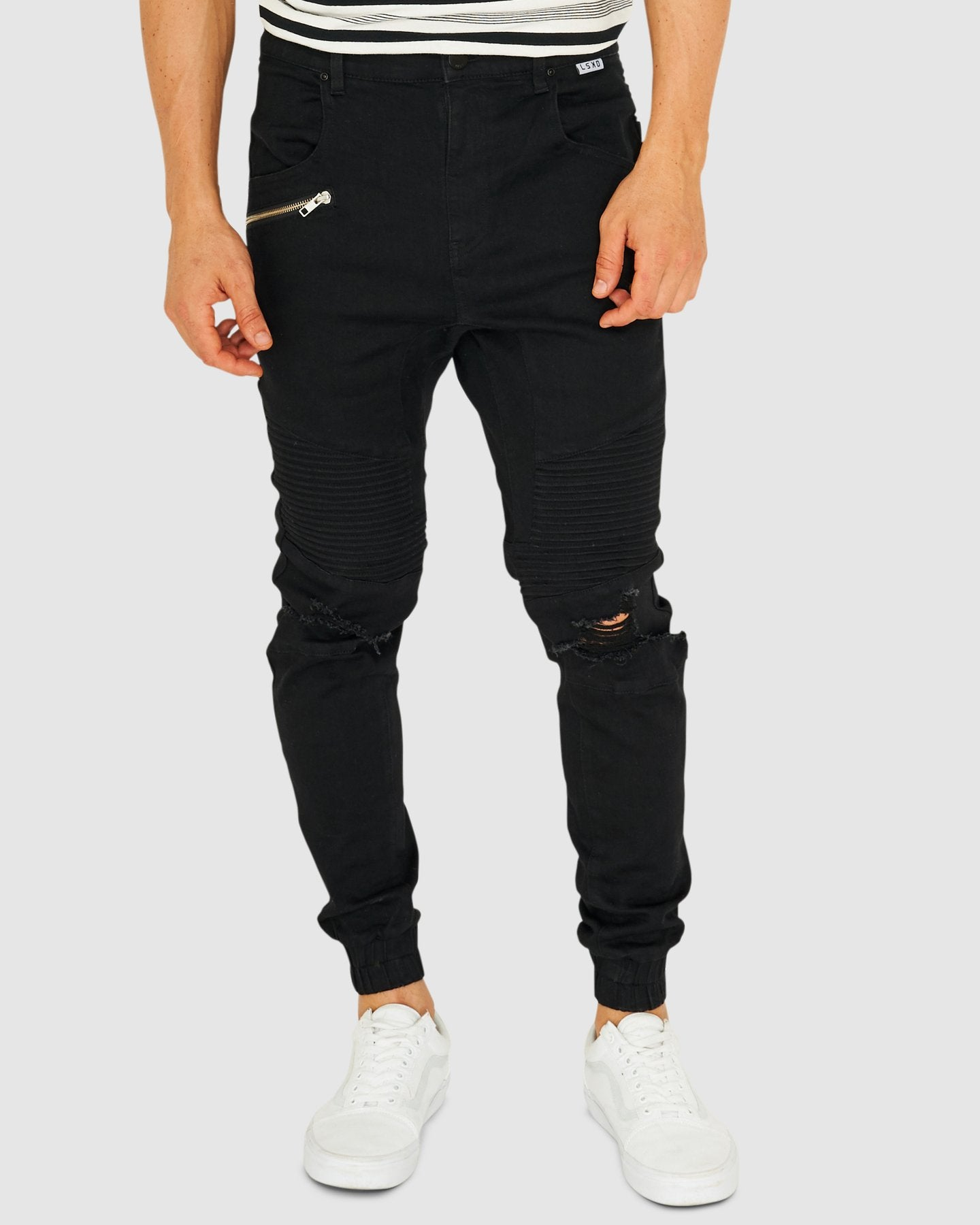 Torment Denim Pants - Black - 34