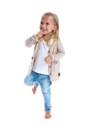 Signature Cardigan for Kids - Latte