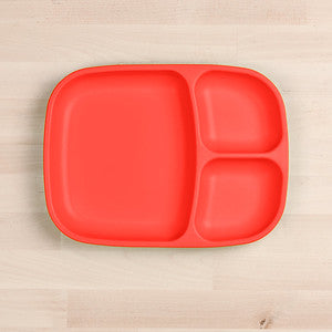 Divided Tray - Red