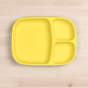 Divided Tray - Yellow