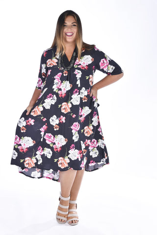 Esher Dress - Black Beauty