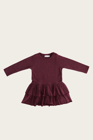 Echo Dress - Plum