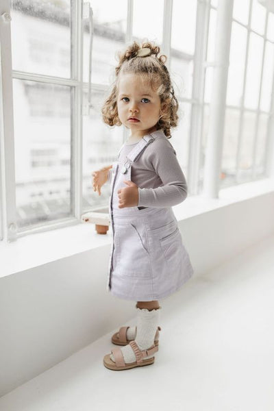 Grace Dress - Soft Lilac