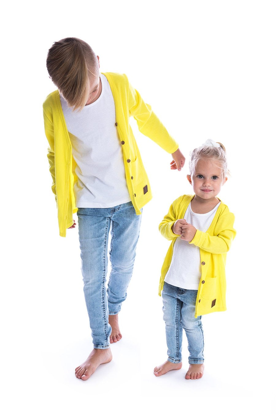 Signature Cardigan For Kids/Babies - Pineapple