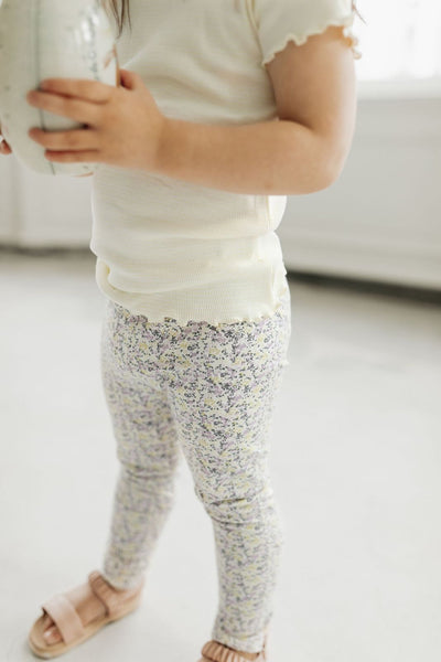 Organic Cotton Leggings - Summer Floral