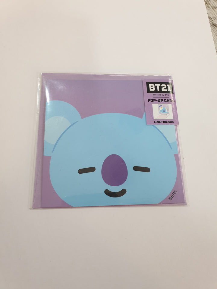 BT21 Pop-up Card Koya