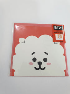 BT21 Pop-up Card RJ