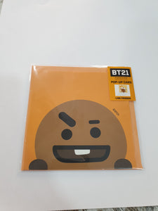 BT21 Pop-up Card Shooky