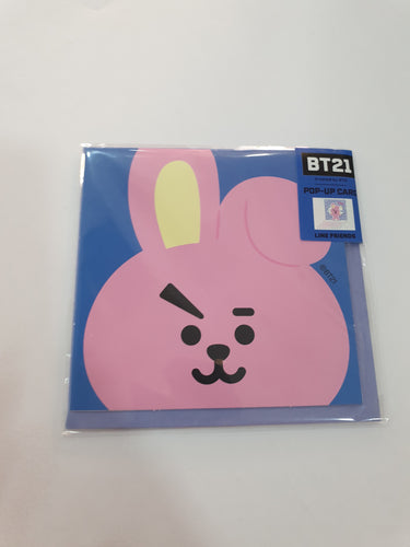 BT21 Pop-up Card Cooky