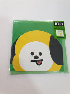 BT21 Pop-up Card Chimmy