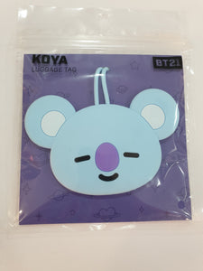 BT21 Luggage Tag Koya
