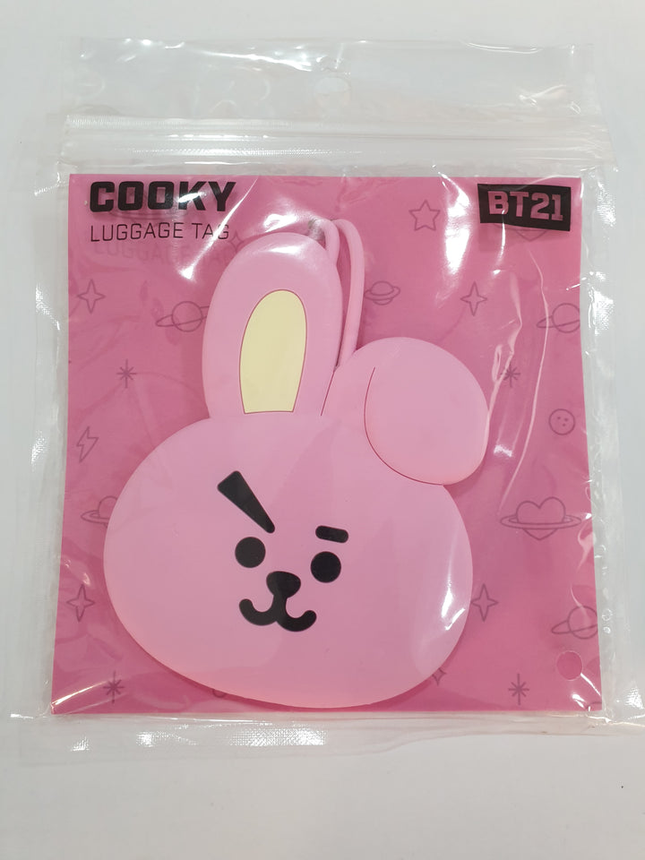 BT21 Luggage Tag Cooky