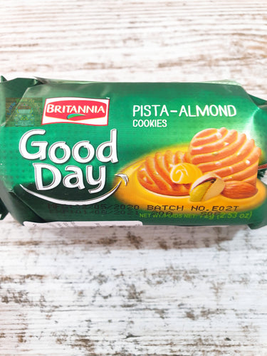 GALLETA DE PISTACHO Y ALMENDRA BRITANNIA GOOD DAY