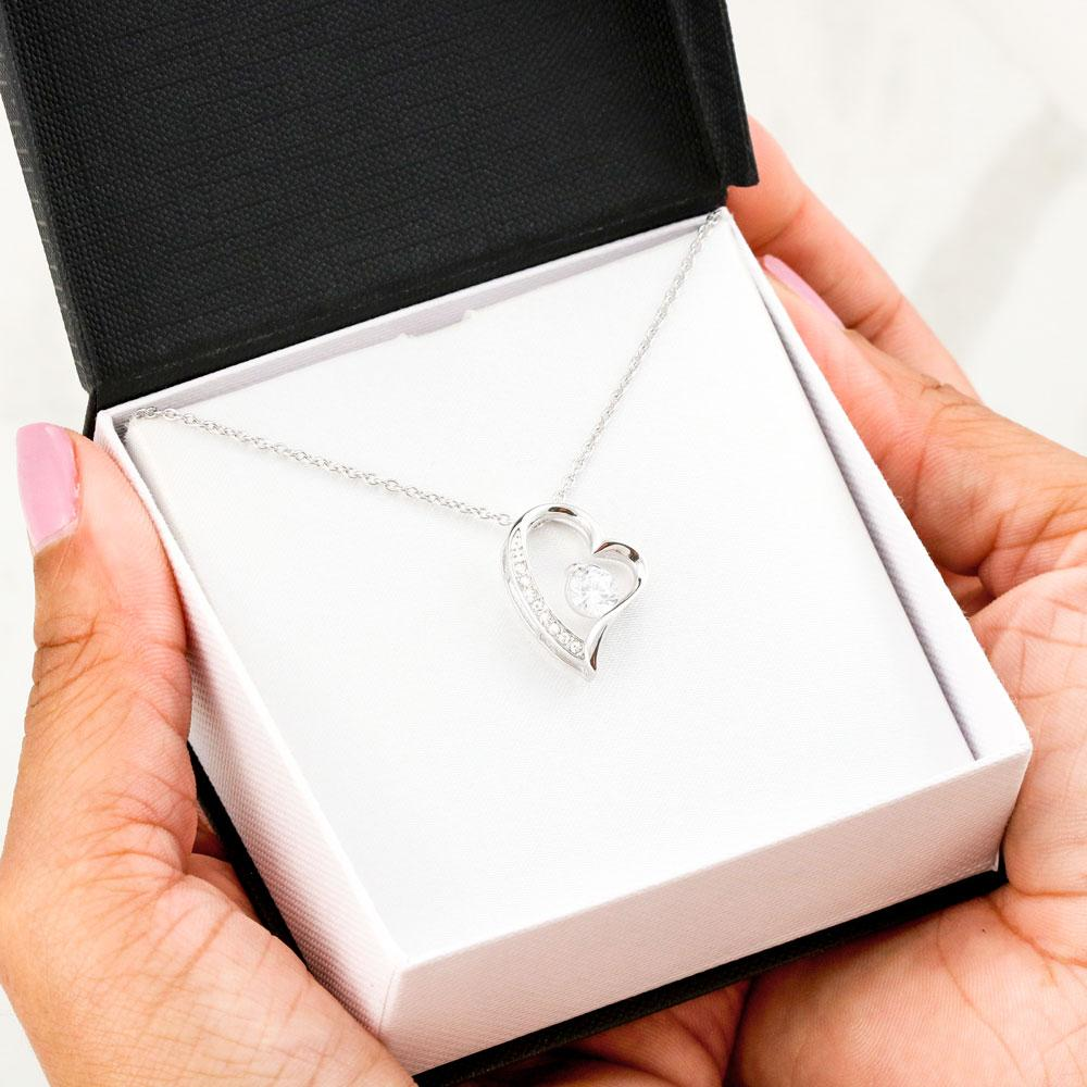 Gift for Girlfriend - Heart Necklace in Luxurious Gift Box