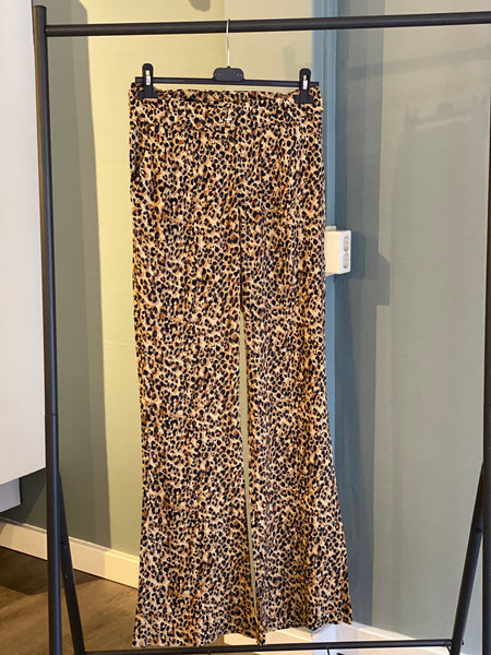 CR Diana Leopard Pants Brown