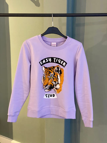 CR Easy Tiger Basic Sweat Lilac