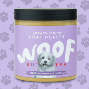 Peanut Butter For Dogs | Coat Health | Woof Butter