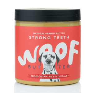 Peanut Butter For Dogs | Strong Teeth Blend | 250g