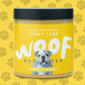 Peanut Butter For Dogs | Natural | Woof Butter