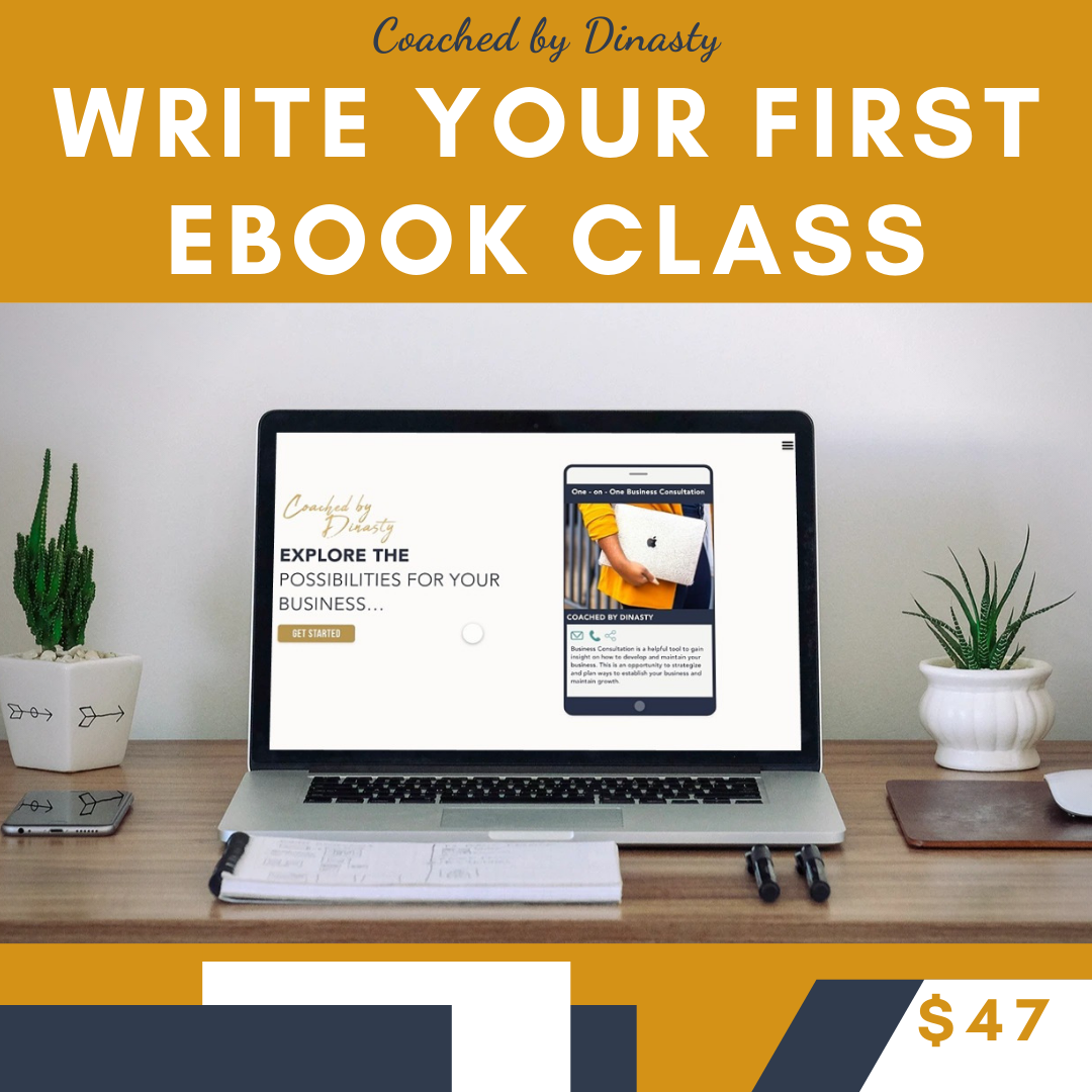 Write Your First Ebook Class