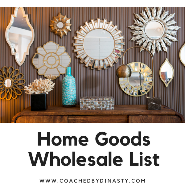 Home Goods List