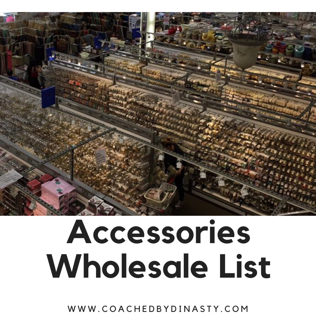 Wholesale Accessories List