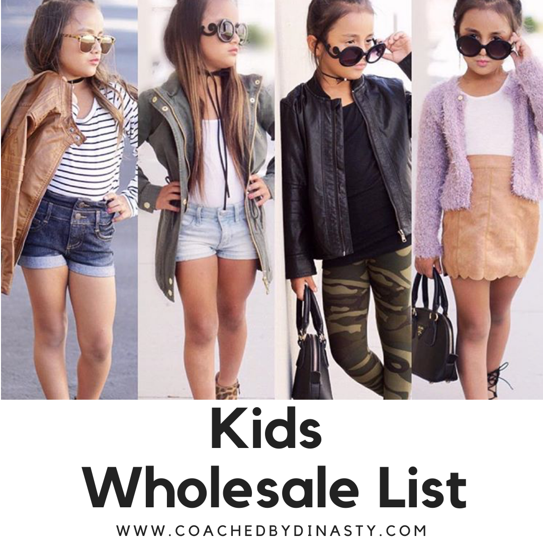 Children Clothing Wholesale List