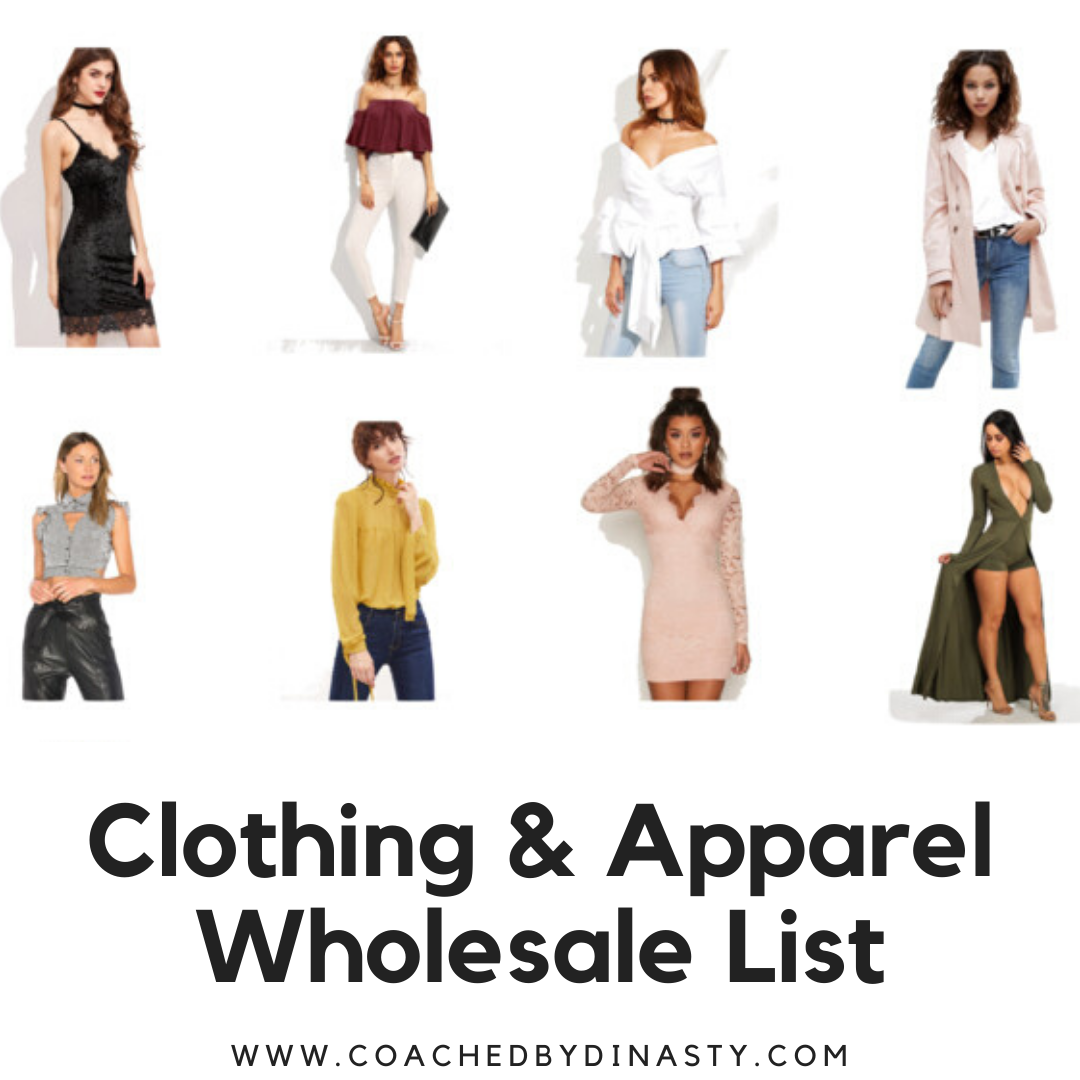 Clothing & Apparel Wholesale