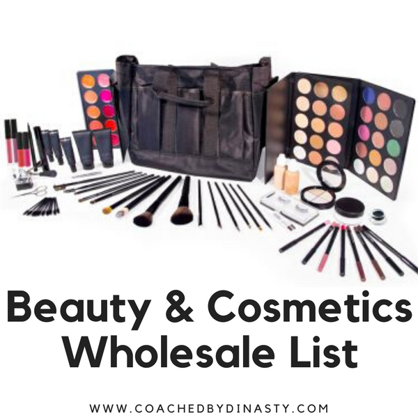 Beauty & Cosmetics List