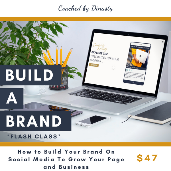 Build a Brand *Flash Class*