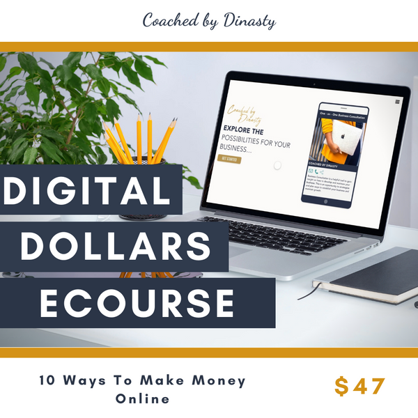 Digital Dollars E-Course