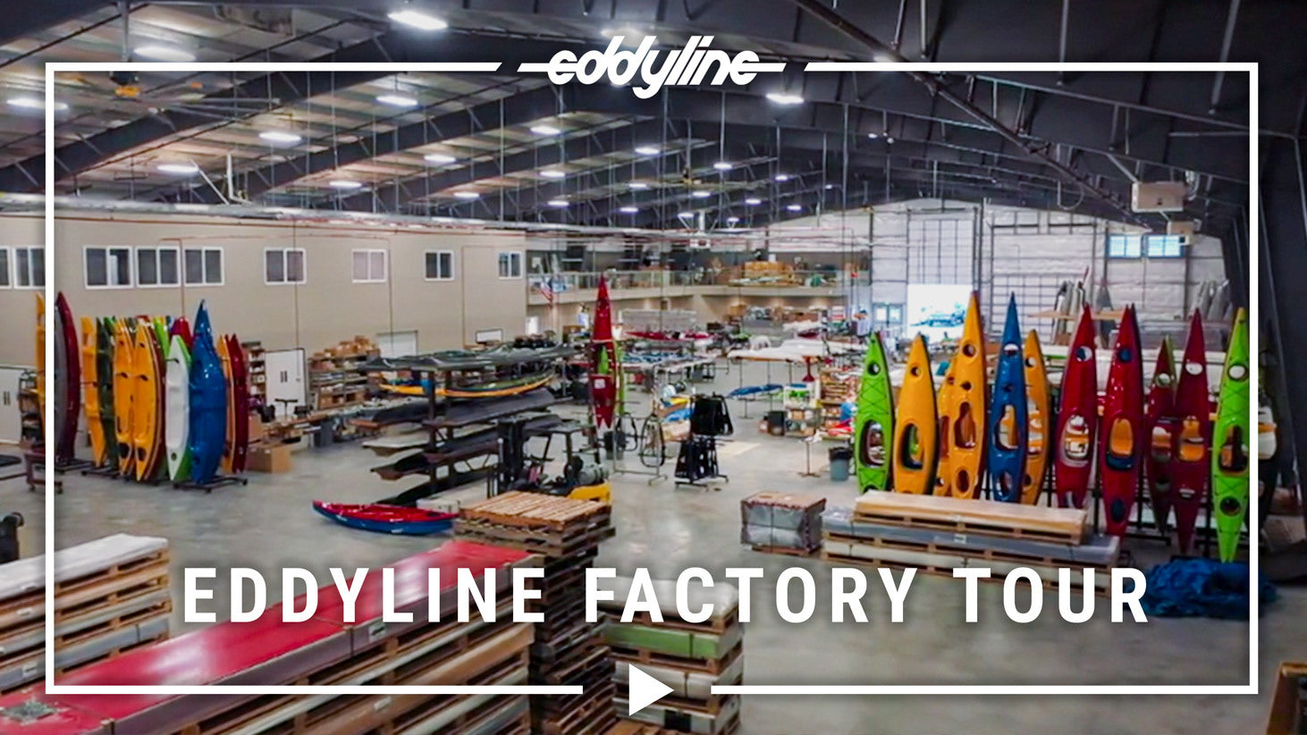 Taking a Tour of the Eddyline Factory