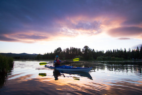 Eddyline Sitka Kayak for Photography