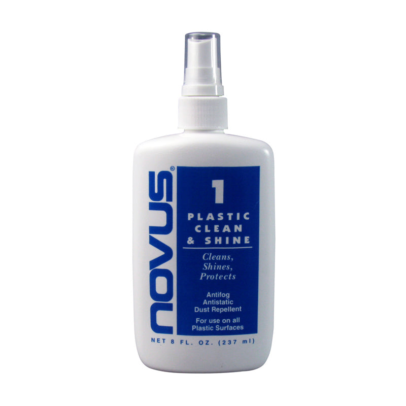 NOVUS Plastic Clean & Shine - 8 oz.