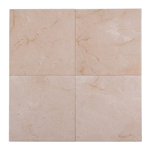 "18""x18"" Cream Marfil Polished Tiles"