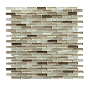Farnsworth Random Strips Glass Mosaic