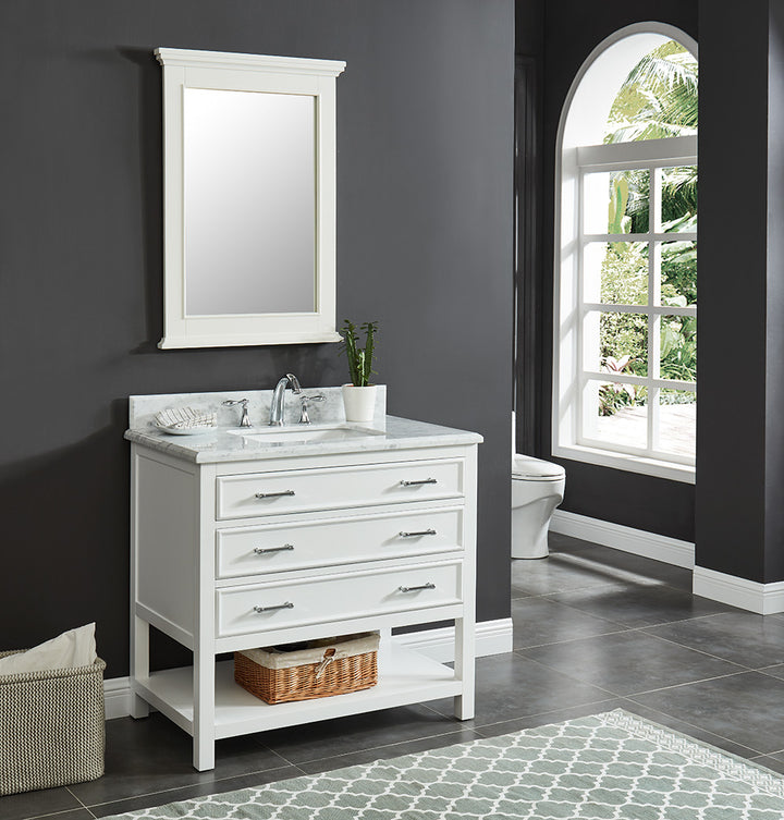 Broadway Vanity Family - Dove White