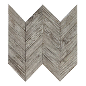 Antique Anchor Teakwood Chevron Mosaic