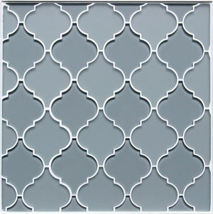 Frosted Glass Mix Lantern Arabesque Mosaic
