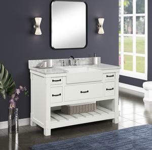 Farmington Vanity Family - Dove White